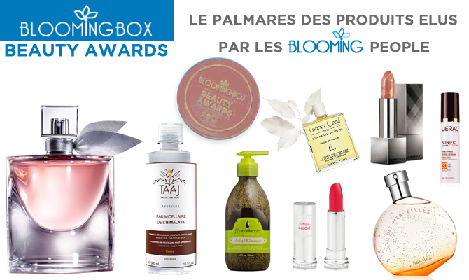Palmarès des Blooming Beauty Awards 2014