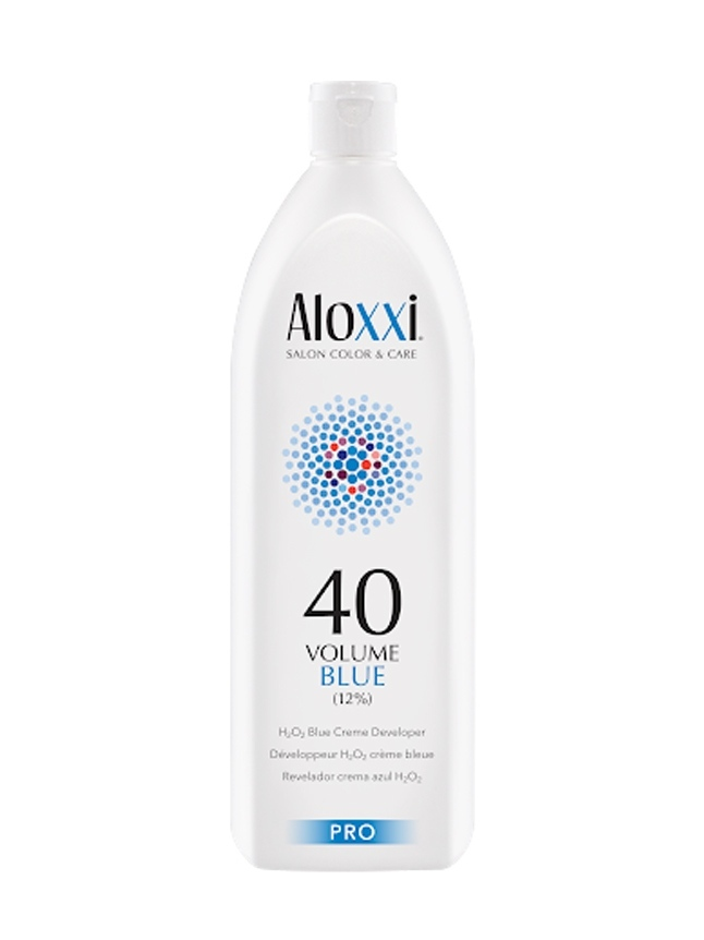 Aloxxi CREME DEVELOPER BLUE 40 VOLUME