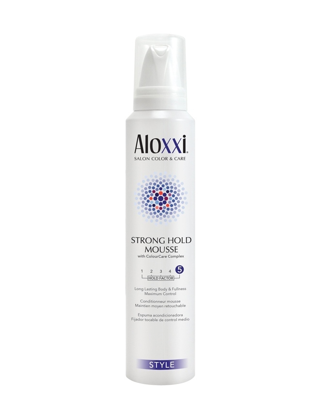 ALOXXI STRONG HOLD MOUSSE
