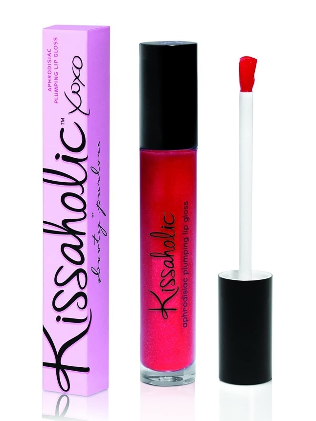Kissaholic Aphrodisiac Plumping Lip Gloss-Throb