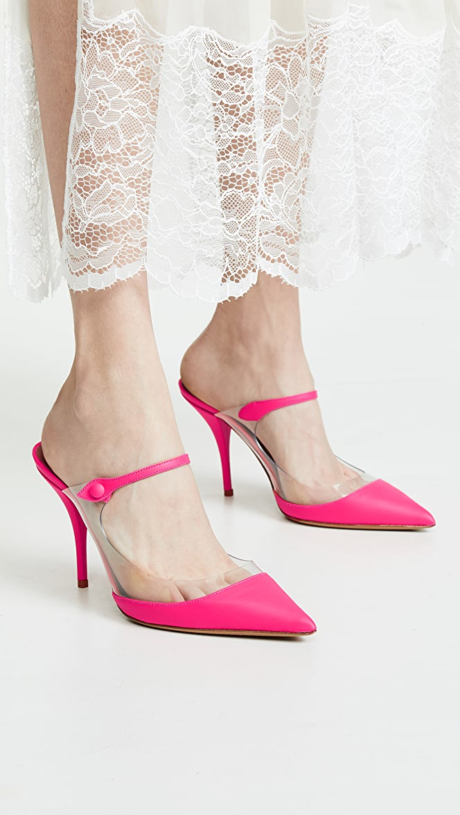 Tabitha Simmons Allie Mules in Pink