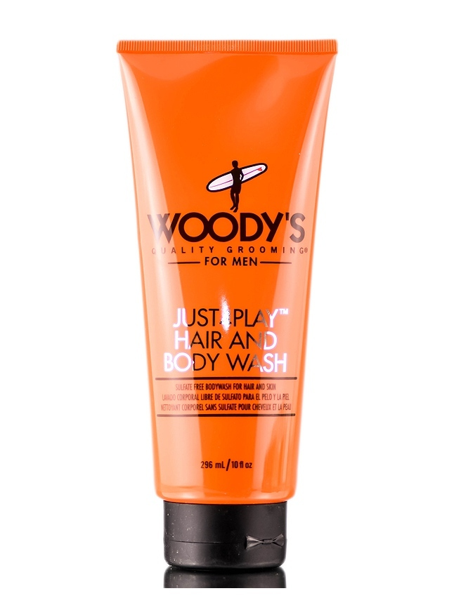 Woody's Just4Play Hair & Body Wash
