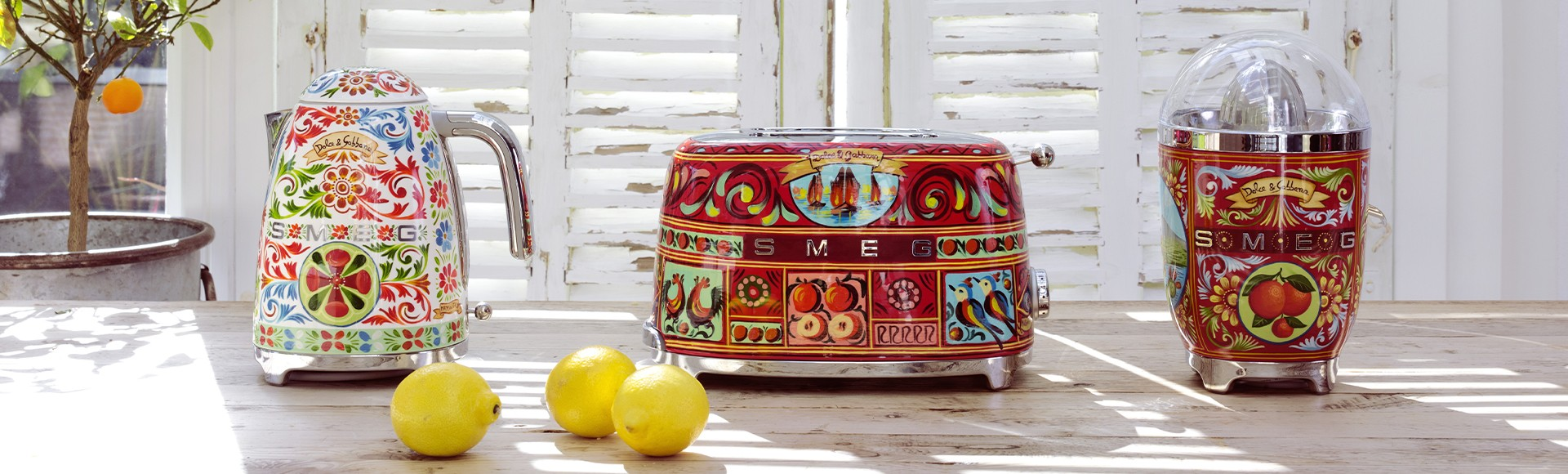 Sicily Is My Love, la collaboration entre SMEG et D&G arrive au Maroc!